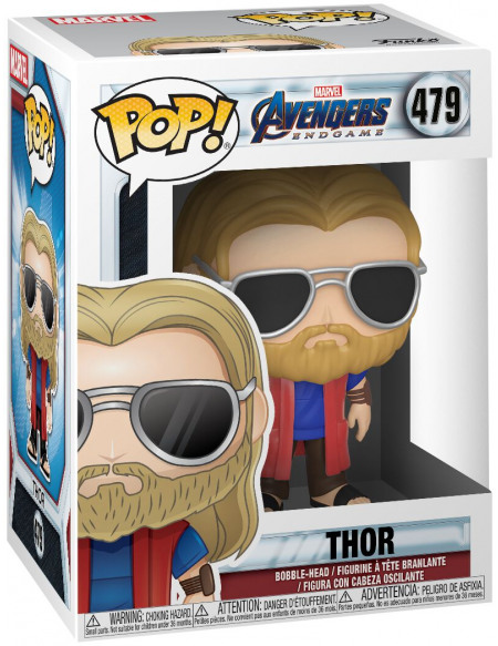 Figurine Funko Pop Marvel Avengers Endgame Casual Thor