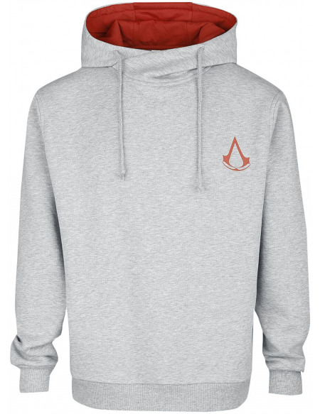 Assassin's Creed Desmond Sweat à capuche gris chiné