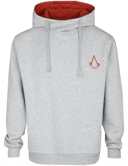 Assassin's Creed Desmond Sweat à capuche gris chiné