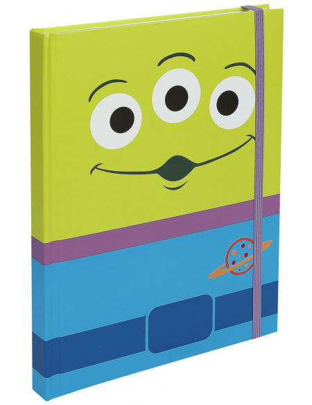 Toy Story Alien Cahier multicolore