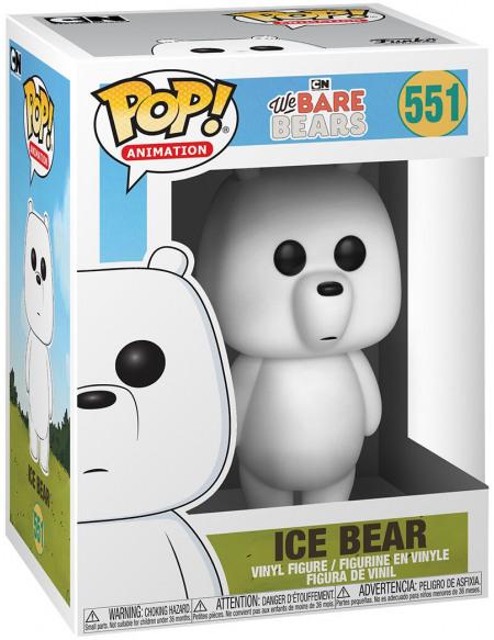 Ours Pour Un Et Un Pour T'Ours Ice Bear - Funko Pop! n°551 Figurine de collection Standard