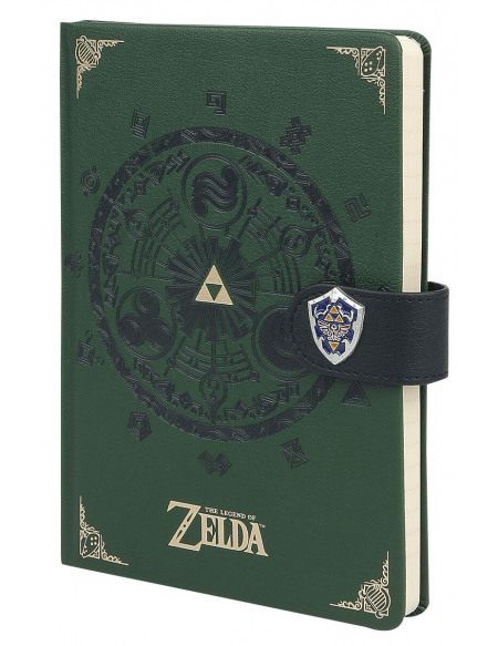 The Legend Of Zelda Gate Of Time Cahier vert