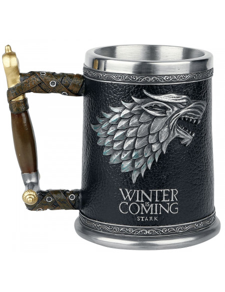 Game Of Thrones Chope Winter Is Coming Chope à bière multicolore