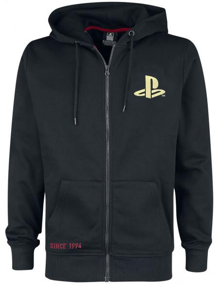 Playstation Since 1994 Sweat à capuche noir