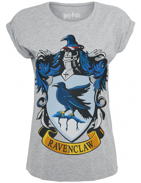 Harry Potter Serdaigle - Logo T-shirt Femme gris chiné