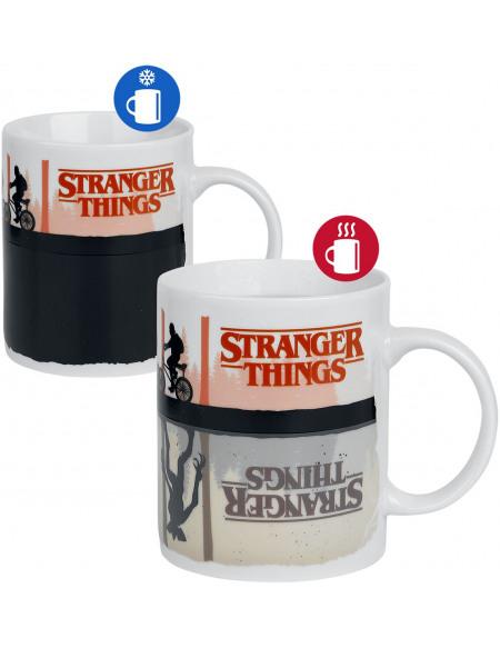 Stranger Things Upside Down - Mug thermoréactif Mug multicolore