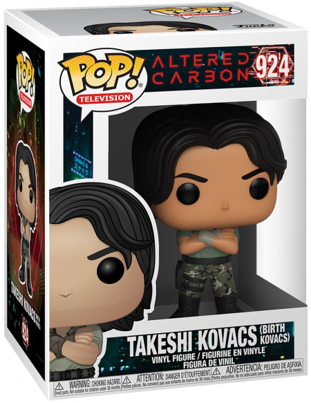 Altered Carbon Takeshi Kovacs (Birth Kovacs) - Funko Pop! n°924 Figurine de collection Standard