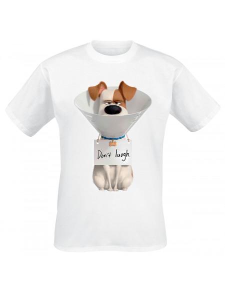 Comme Des Bêtes Comme Des Bêtes 2 - Max - Don't Laugh T-shirt blanc
