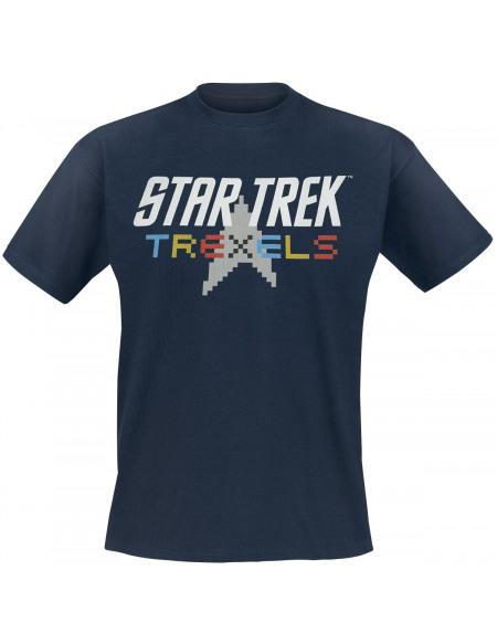 Star Trek Trexels T-shirt marine