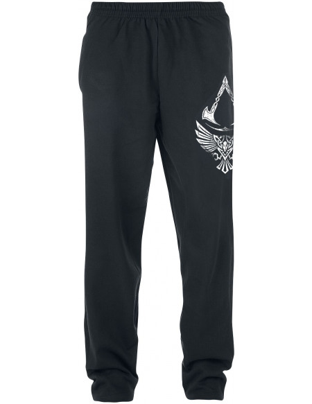 Assassin's Creed Valhalla - Corbeau & Symbole Pantalon de Jogging noir