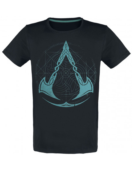 Assassin's Creed Valhalla - Blason T-shirt noir