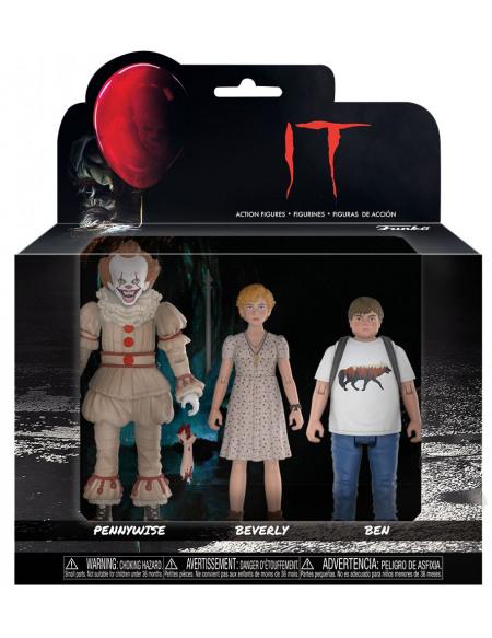 IT Set 2 - Pennywise, Ben et Beverly Figurine de collection Standard