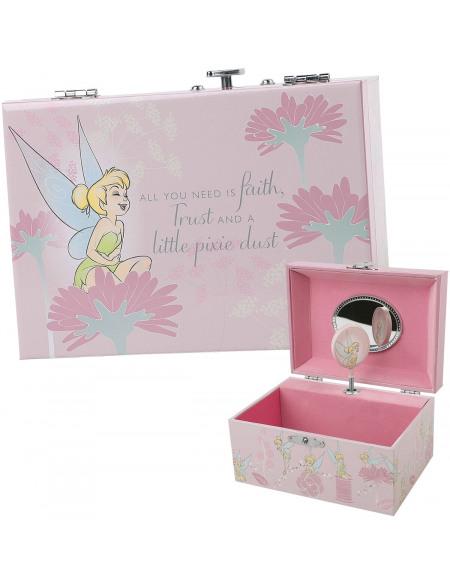Peter Pan Tinker Bell - Schmuckbox mit Spieluhr Coffret bijoux Standard