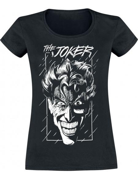 Batman The Clown Prince Of Crime T-shirt Femme noir