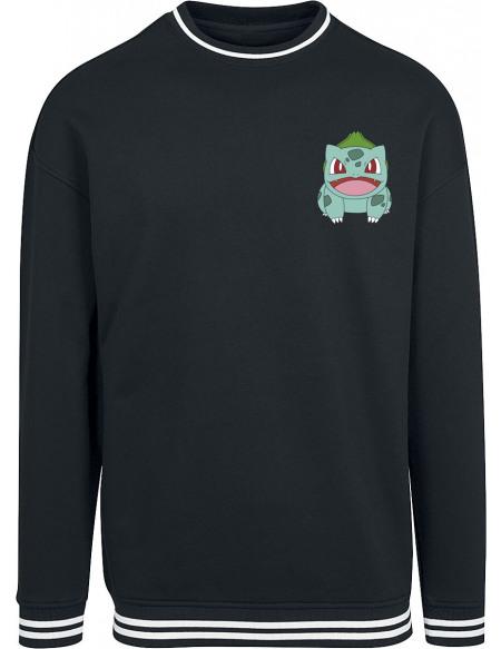 Pokémon Bulbizarre Sweat-shirt noir