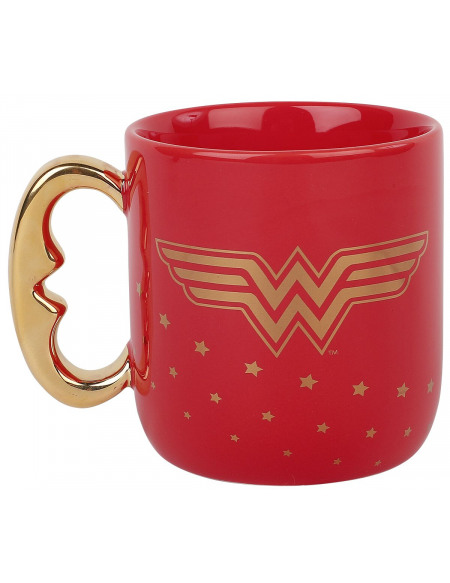 Wonder Woman Stronger Than You Think Mug rouge/or