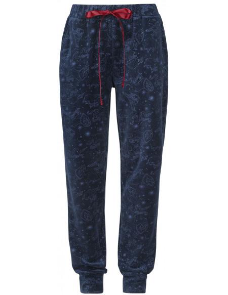 Harry Potter Poudlard Intégral Pantalon Femme bleu foncé