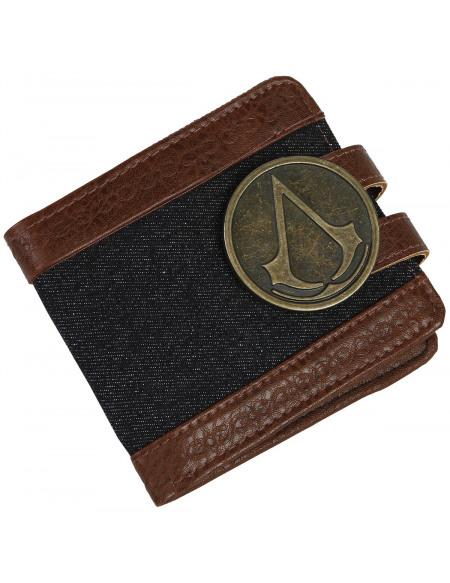 Assassin's Creed Emblème Portefeuille marron