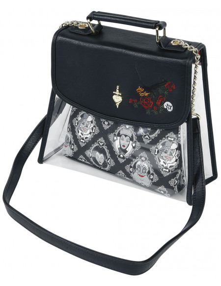 Disney Villains Loungefly - Méchants Sac à Main gris/noir