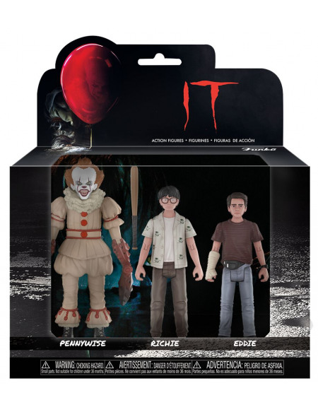 IT Set 3 - Pennywise, Richie et Eddie Figurine de collection Standard