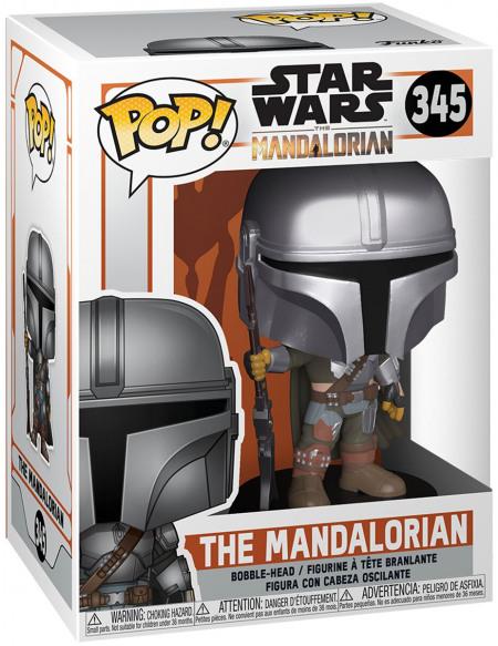 Star Wars The Mandalorian - The Mandalorian - Funko Pop! n°345 Figurine de collection Standard