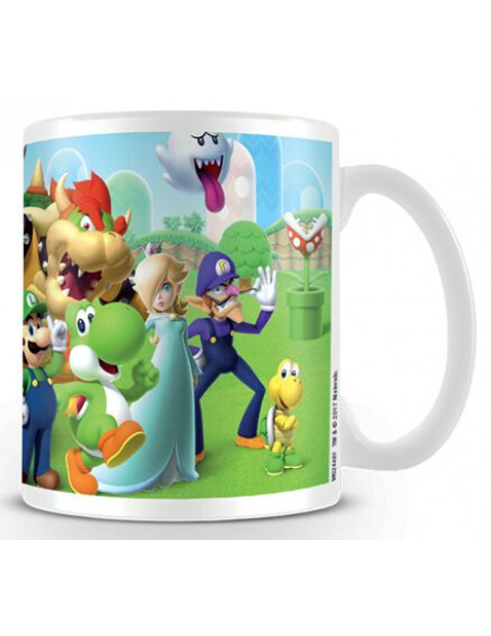 Mug Super Mario Royaume Champignon Boxed 300 ml