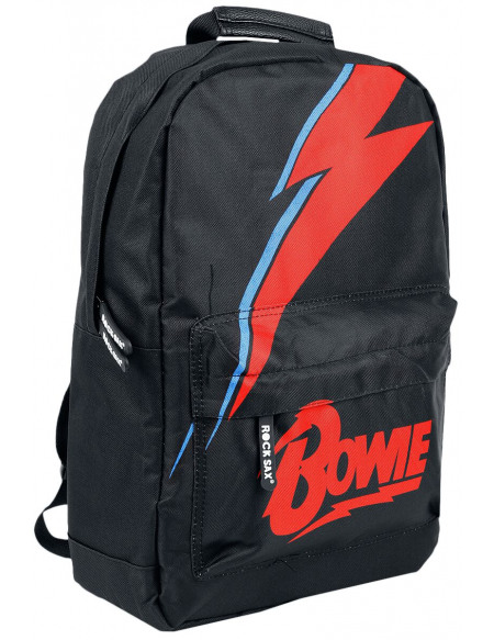 David Bowie Lightning Sac à Dos noir