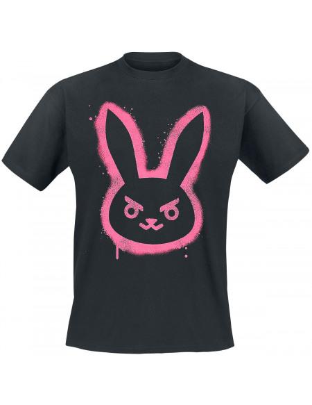 Overwatch D.VA - Bunny T-shirt marron