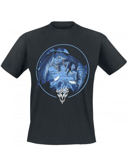 Monster Hunter T-shirt noir