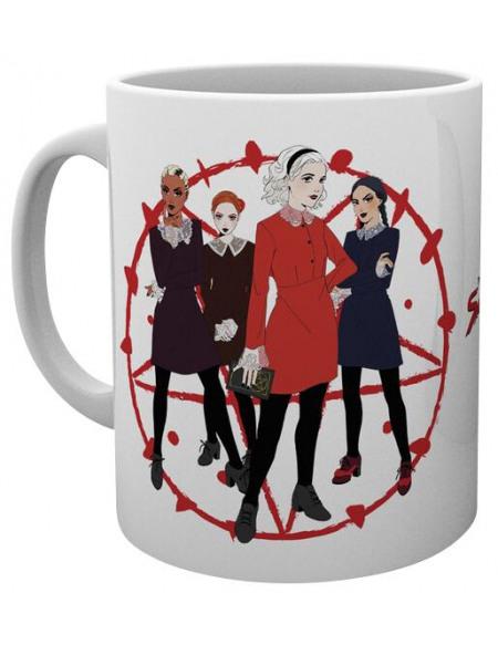 Les Nouvelles Aventures de Sabrina Weird Sisters Mug Standard