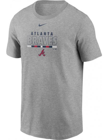MLB Nike - Atlanta Braves T-shirt gris sombre chiné