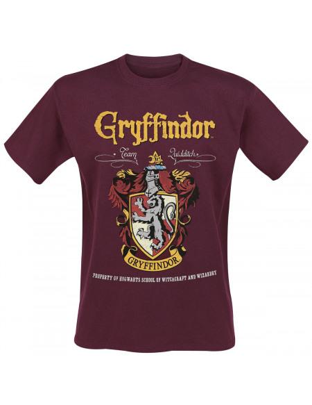 Harry Potter Gryffondor T-shirt rouge