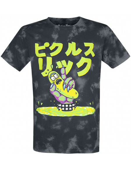 Rick & Morty Pickle Rick T-shirt gris