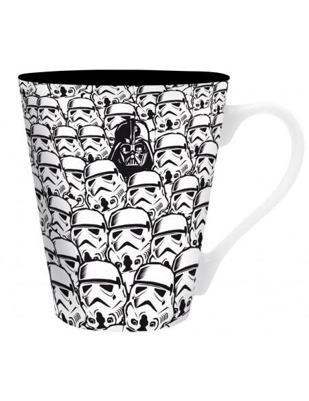 Star Wars Troopers & Vader Mug noir/blanc