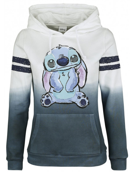 Lilo & Stitch Stitch Sweat à Capuche Femme multicolore