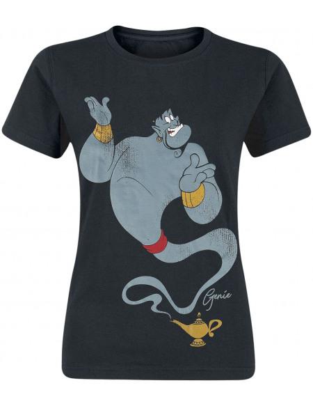 Aladdin Genie T-shirt Femme noir