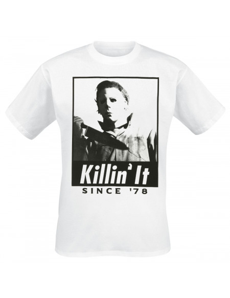 Halloween Killin´ It Since ´78 T-shirt blanc