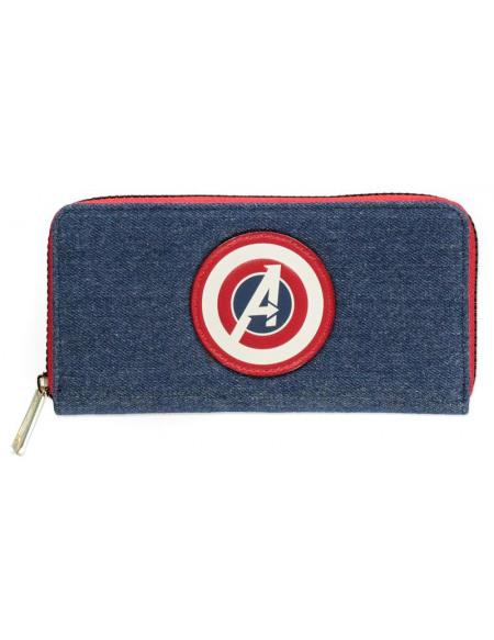 Avengers Logo Avengers Portefeuille bleu/rouge/blanc