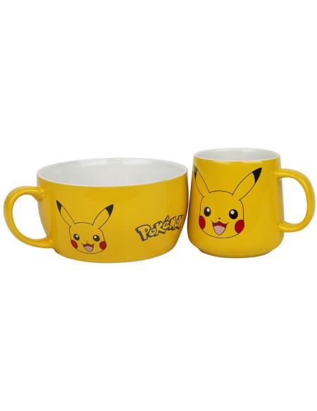 Pokémon Pikachu Set petit déjeuner multicolore