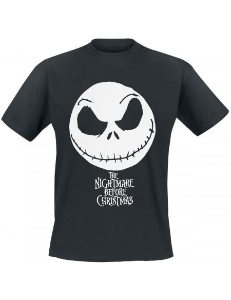 L'Étrange Noël De Monsieur Jack Jack Skellington T-shirt noir
