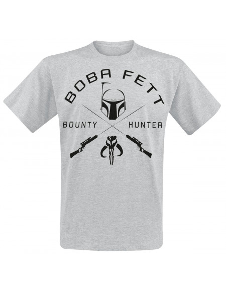 Star Wars Bounty Hunter T-shirt gris chiné