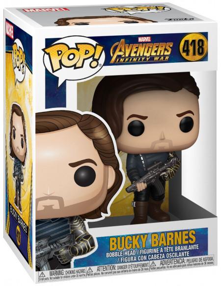 Figurine Funko Pop Infinity War Saison 2 Bucky With Weapon