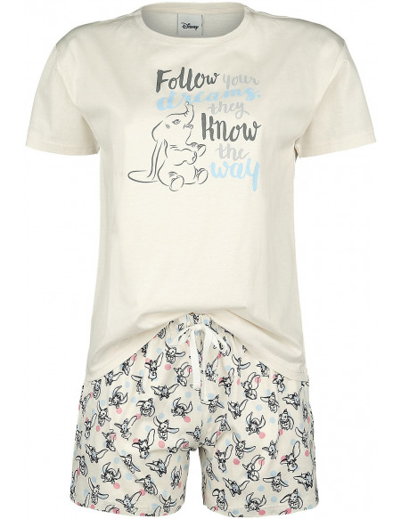Dumbo Follow Your Dreams Pyjama beige