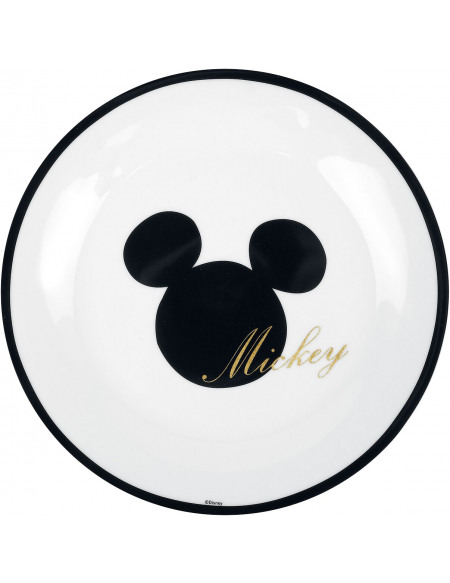 Mickey & Minnie Mouse Mickey Doré Assiette multicolore
