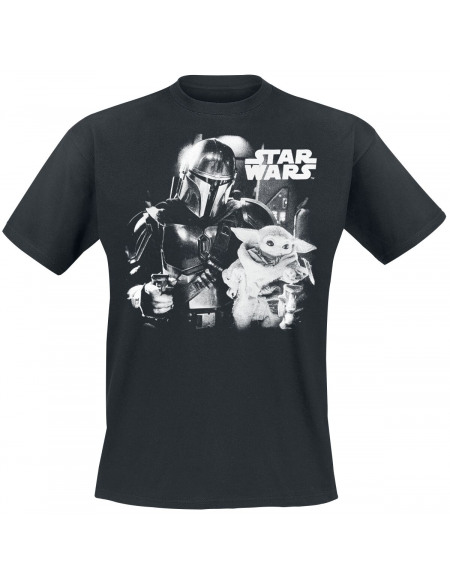 Star Wars T-shirt noir