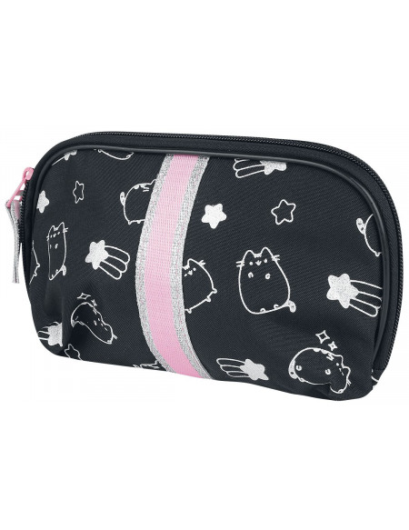 Pusheen All Over Trousse de Toilette noir/blanc