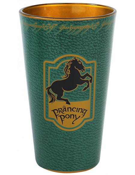 Le Seigneur Des Anneaux Prancing Pony Verre vert