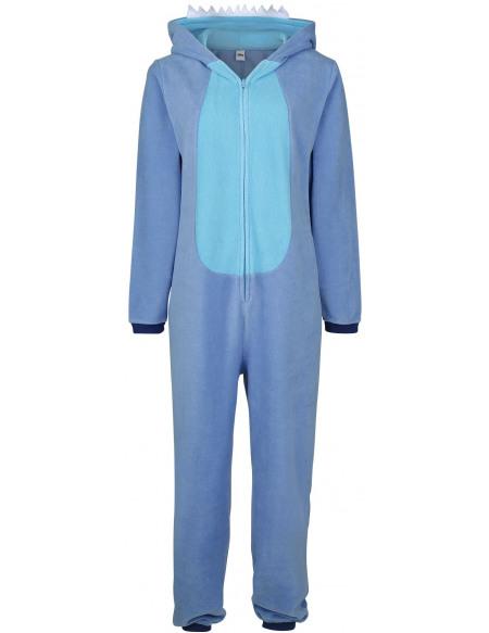 Lilo & Stitch Cosplay Combinaison bleu