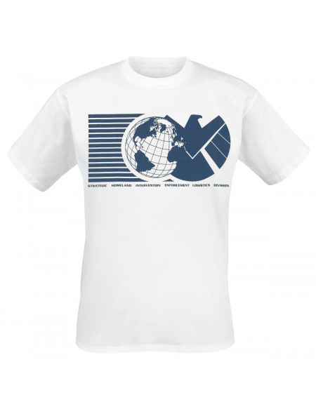 Avengers Shield - Monde T-shirt blanc