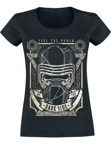 Star Wars Épisode 9 - L'Ascension De Skywalker - Kylo Ren - Feel The Power T-shirt Femme noir